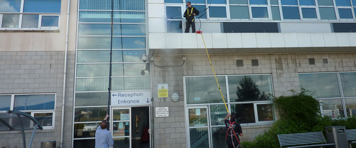 Window Cleaning Glasgow | Commercial Window Cleaners | High Level Cleaning